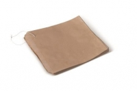 PAPER BAG #1 SQUARE BROWN - Click for more info
