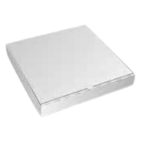 PIZZA CARTON NEW WHITE PLAIN 7 INCH - Click for more info