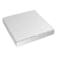 PIZZA CARTON NEW WHITE PLAIN 12 INCH - Click for more info