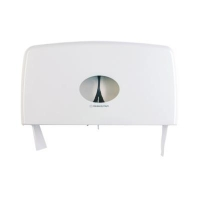 TOILET ROLL DISPENSER 2 ROLL COMPACT JUMBO - Click for more info