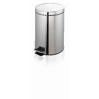 PEDAL BIN STAINLESS STEEL 12L - Click for more info