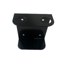 BLACK DOUBLE WALL BRACKET - Click for more info
