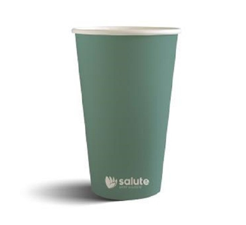 COFFEE CUP SALUTE 16OZ SINGLE WALL - Click for more info